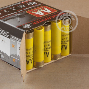 Photograph of Winchester 20 Gauge #7.5 shot for sale at AmmoMan.com