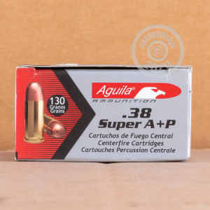 Image of 38 Super pistol ammunition at AmmoMan.com.