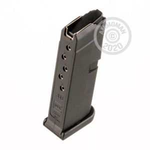 Image of the .380 ACP GLOCK 42 MAGAZINE OEM 6 ROUND GENERATION 4 (1 MAGAZINE) available at AmmoMan.com.