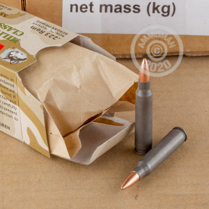 Image of the 223 REMINGTON WOLF WPA MILITARY CLASSIC 55 GRAIN FMJ (500 ROUNDS) available at AmmoMan.com.