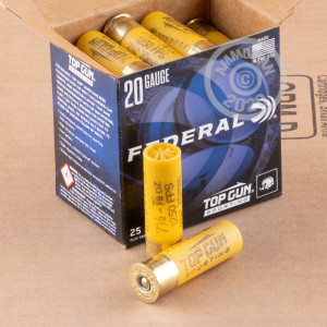 Great ammo for shooting clays, these Federal rounds are for sale now at AmmoMan.com.