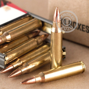 Image of the .223 REMINGTON FEDERAL AMERICAN EAGLE 55 GRAIN FMJ-BT (30 ROUNDS) available at AmmoMan.com.