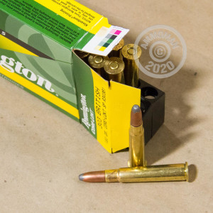 Photo of 303 British soft point ammo by Remington for sale.