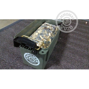 Image of bulk .38 S/W ammo by Mixed that's ideal for training at the range.