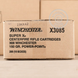 Photo of 308 / 7.62x51 Power-Point (PP) ammo by Winchester for sale.