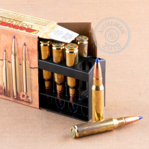 Image detailing the brass case on the Barnes ammunition.