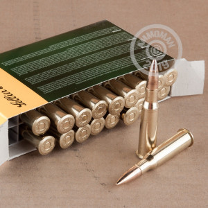 Image of 7.62 x 54R ammo by Sellier & Bellot that's ideal for training at the range.