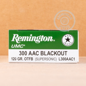 Image of .300 AAC BLACKOUT REMINGTON 120 GRAIN OPEN TIP MATCH (20 ROUNDS)
