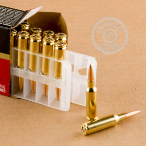Image of the 224 VALKYRIE FEDERAL GOLD MEDAL 90 GRAIN BTHP (20 ROUNDS) available at AmmoMan.com.