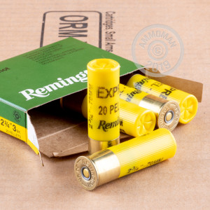 #3 BUCK shotgun rounds for sale at AmmoMan.com - 5 rounds.