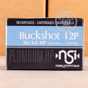 ammo made by NobelSport with a 2-3/4
