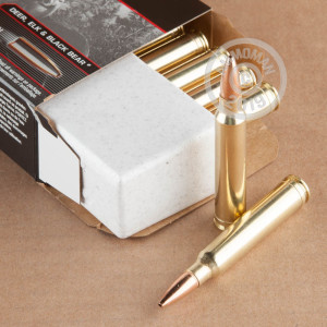 Image of Winchester 300 Winchester Magnum rifle ammunition.