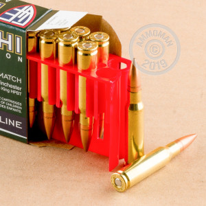 Image of 308 / 7.62x51 ammo by Fiocchi that's ideal for precision shooting.