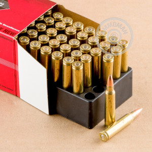 Image of Black Hills Ammunition 223 Remington rifle ammunition.
