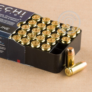 Image of Fiocchi .40 Smith & Wesson pistol ammunition.