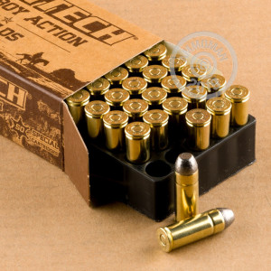 Photo of .45 COLT Lead Flat Nose ammo by Magtech for sale at AmmoMan.com.