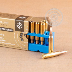 Image of 223 Remington ammo by Prvi Partizan that's ideal for precision shooting.