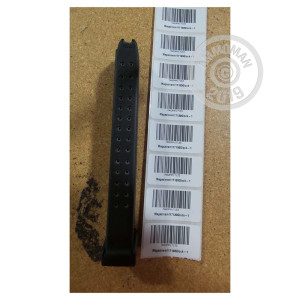 Image of 9MM GLOCK 17/19/26/34 MAGAZINE OEM 33 ROUND GENERATION 4 (1 MAGAZINE)