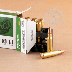 Image of 6.8 SPC ammo by Remington that's ideal for training at the range.