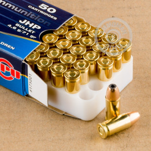 Image of .32 ACP ammo by Prvi Partizan that's ideal for home protection, training at the range.