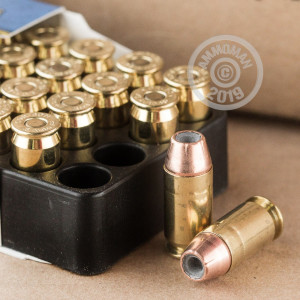 Image of .45 Automatic ammo by Corbon that's ideal for home protection.