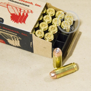 An image of 50 Action Express ammo made by Magnum Research at AmmoMan.com.