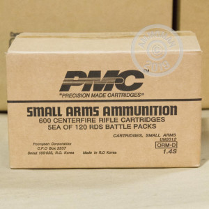 Image of 5.56X45 PMC X-TAC BATTLE PACK 62 GRAIN FMJ GREEN TIP (120 ROUNDS)