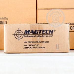A photo of a box of Magtech ammo in 308 / 7.62x51.