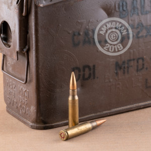 7 62X51MM ETHIOPIAN MILITARY SURPLUS 145 GRAIN FMJ IN 30 CAL AMMO CAN (280  ROUNDS)
