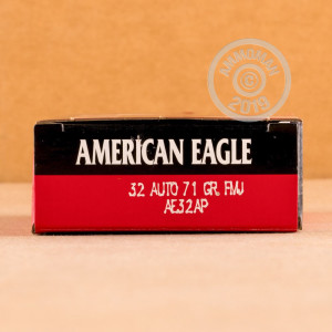 Photo of .32 ACP FMJ ammo by Federal for sale at AmmoMan.com.