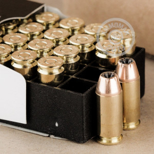 Image of .40 Smith & Wesson ammo by PMC that's ideal for home protection.