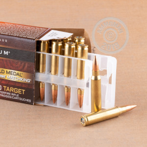 Photo detailing the .223 FEDERAL MATCH 69 GRAIN #GM223M (200 ROUNDS) for sale at AmmoMan.com.