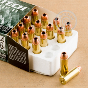 Image of Magtech 44 Remington Magnum pistol ammunition.