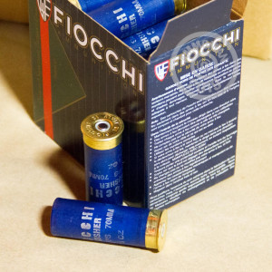Great ammo for shooting clays, these Fiocchi rounds are for sale now at AmmoMan.com.