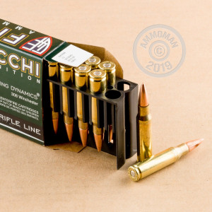 Image of Fiocchi 308 / 7.62x51 rifle ammunition.