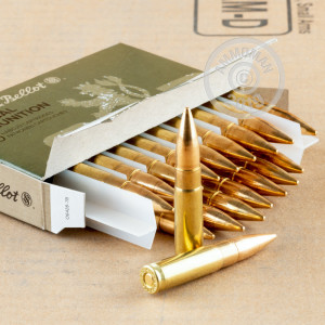 Image of 300 AAC Blackout ammo by Sellier & Bellot that's ideal for training at the range.