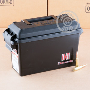 Image of the 6.5 CREEDMOOR HORNADY AMERICAN GUNNER 140 GRAIN BTHP (200 ROUNDS IN FIELD BOX) available at AmmoMan.com.