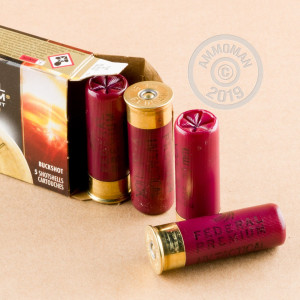 Picture of  12 Gauge ammo made by Federal in-stock now at AmmoMan.com.