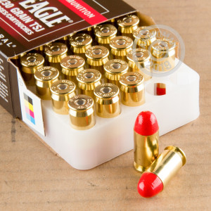Photo of .45 Automatic Polymer Coated FMJ ammo by Federal for sale at AmmoMan.com.
