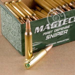 An image of 5.56x45mm ammo made by Magtech at AmmoMan.com.