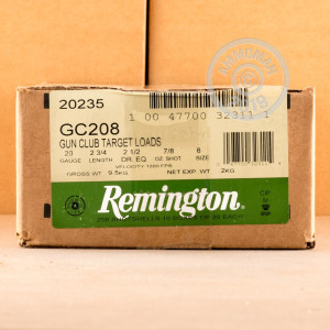 ammo made by Remington with a 2-3/4