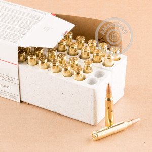Photo detailing the 223 REMINGTON WINCHESTER USA VALUE PACK 45 GRAIN JHP (40 ROUNDS) for sale at AmmoMan.com.