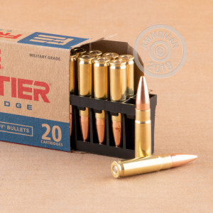Photograph showing detail of 300 AAC BLACKOUT HORNADY FRONTIER 125 GRAIN FMJ (20 ROUNDS)