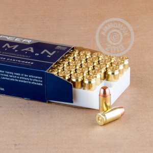 An image of .45 Automatic ammo made by Speer at AmmoMan.com.