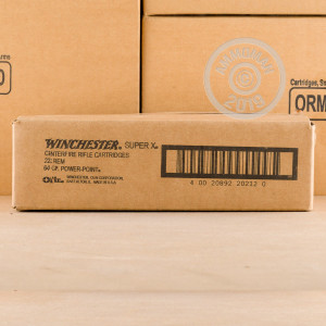 Image of the 223 REMINGTON WINCHESTER SUPER-X 64 GRAIN SP (200 ROUNDS) available at AmmoMan.com.