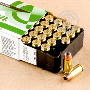 Image of .40 Smith & Wesson ammo by Remington that's ideal for home protection, training at the range.