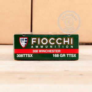 Photo of 308 / 7.62x51 TTSX ammo by Fiocchi for sale.