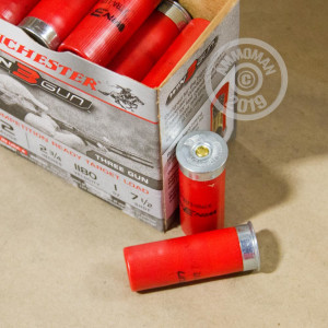 #7.5 shot shotgun rounds for sale at AmmoMan.com - 25 rounds.