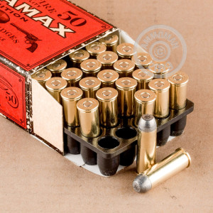 Image of 44-40 WCF ammo by Ultramax that's ideal for training at the range.