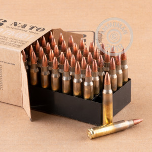 Photo of 5.56x45mm FMJ-BT ammo by Fiocchi for sale.